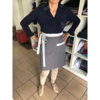 Avental modelo cintura