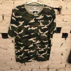 Camiseta camuflada verde