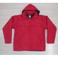 Jaqueta  vermelha unisex microfibra